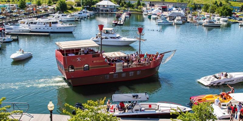 ScallyWags Pirate Ship