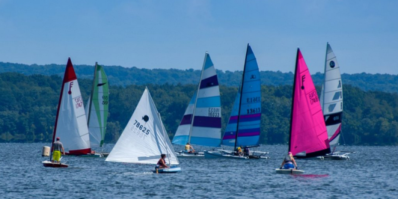 conneaut lake sailing pennsylvania water sports