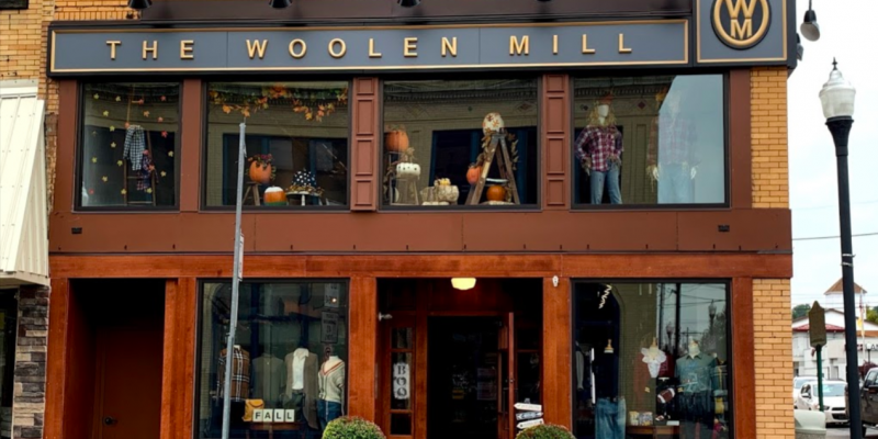 The Woolen Mill Clothing Store Meadville Pennsylvania