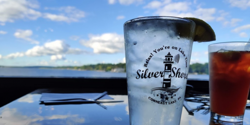 conneaut lake pennsylvania silver shore restaurant water front dining