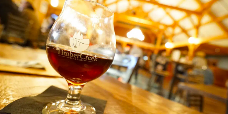 Timbercreek tap and table restaurant brewery taphouse craft beer